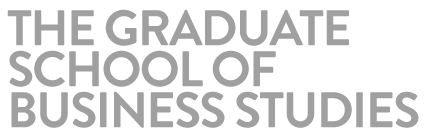 The Graduate School of Business Studies